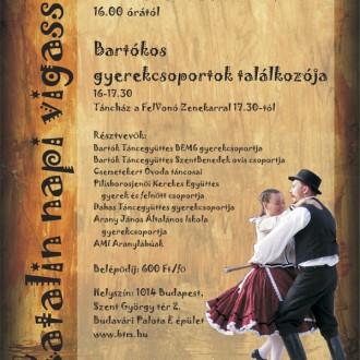 Bartókos Gyerekcsoportok Találkozója november 24-én